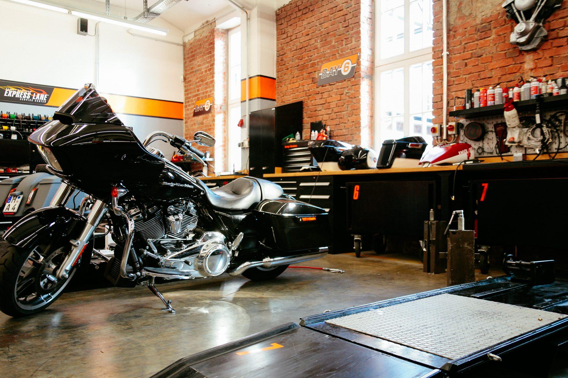 Harley Davidson Bielefeld Werkstatt