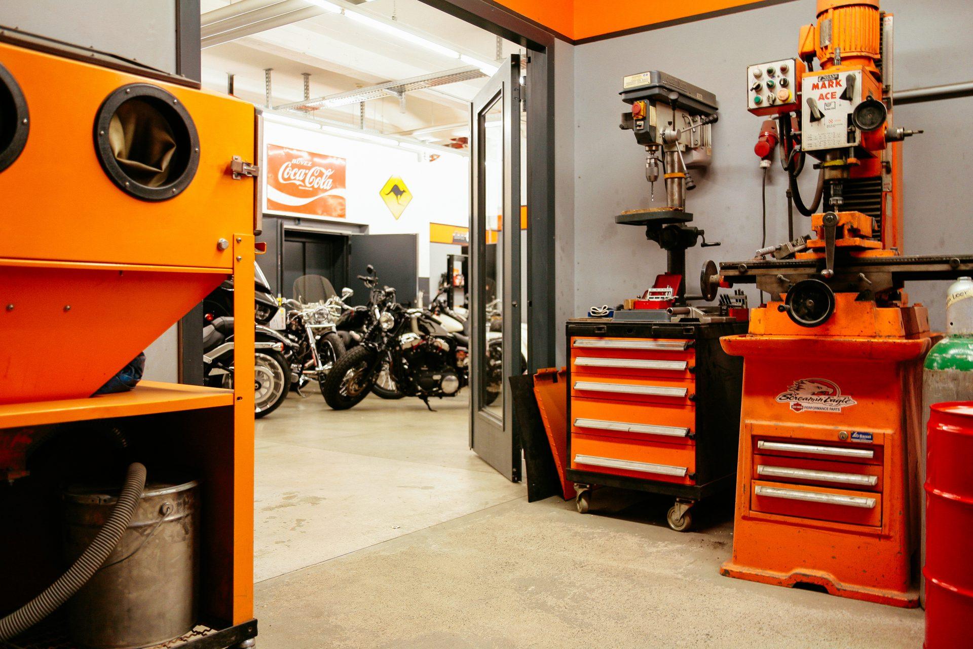 Harley Davidson Bielefeld Metallverarbeitung